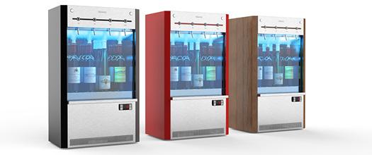 Advinéo Shop MAchine de vin verre design et personnalisable