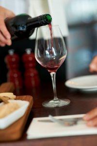 equipement pour le vin au verre restaurant